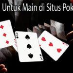 Peraturan Untuk Main di Situs Poker Online